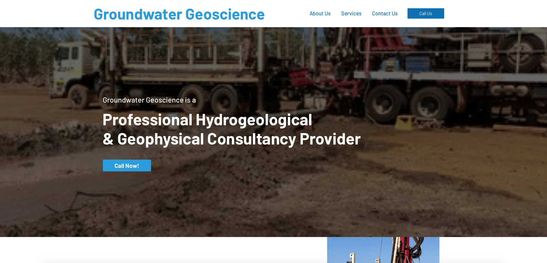 Our sample work - Groundwater Geoscience